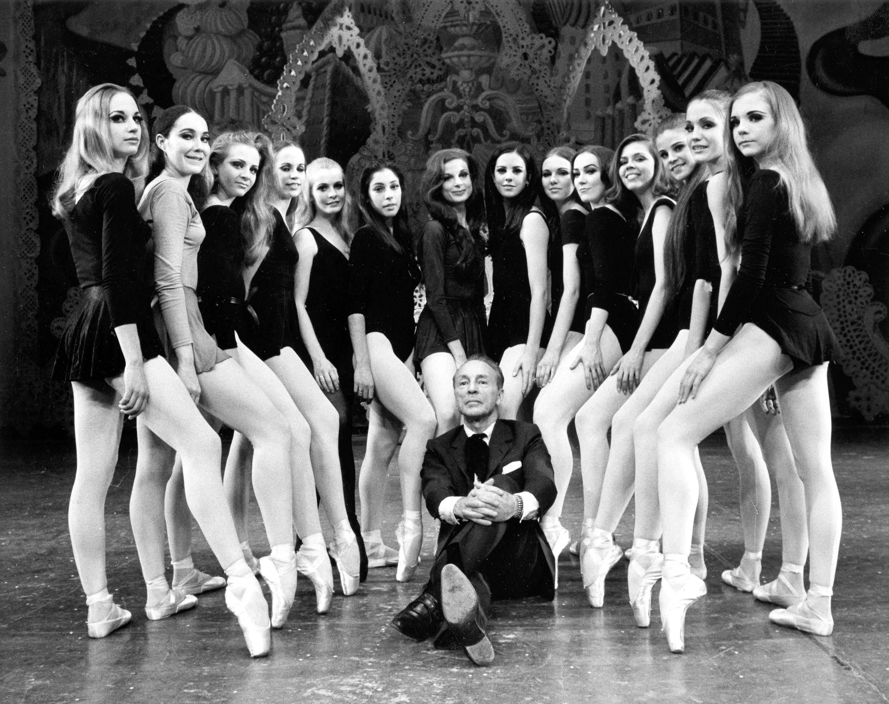 Balanchine and dancers