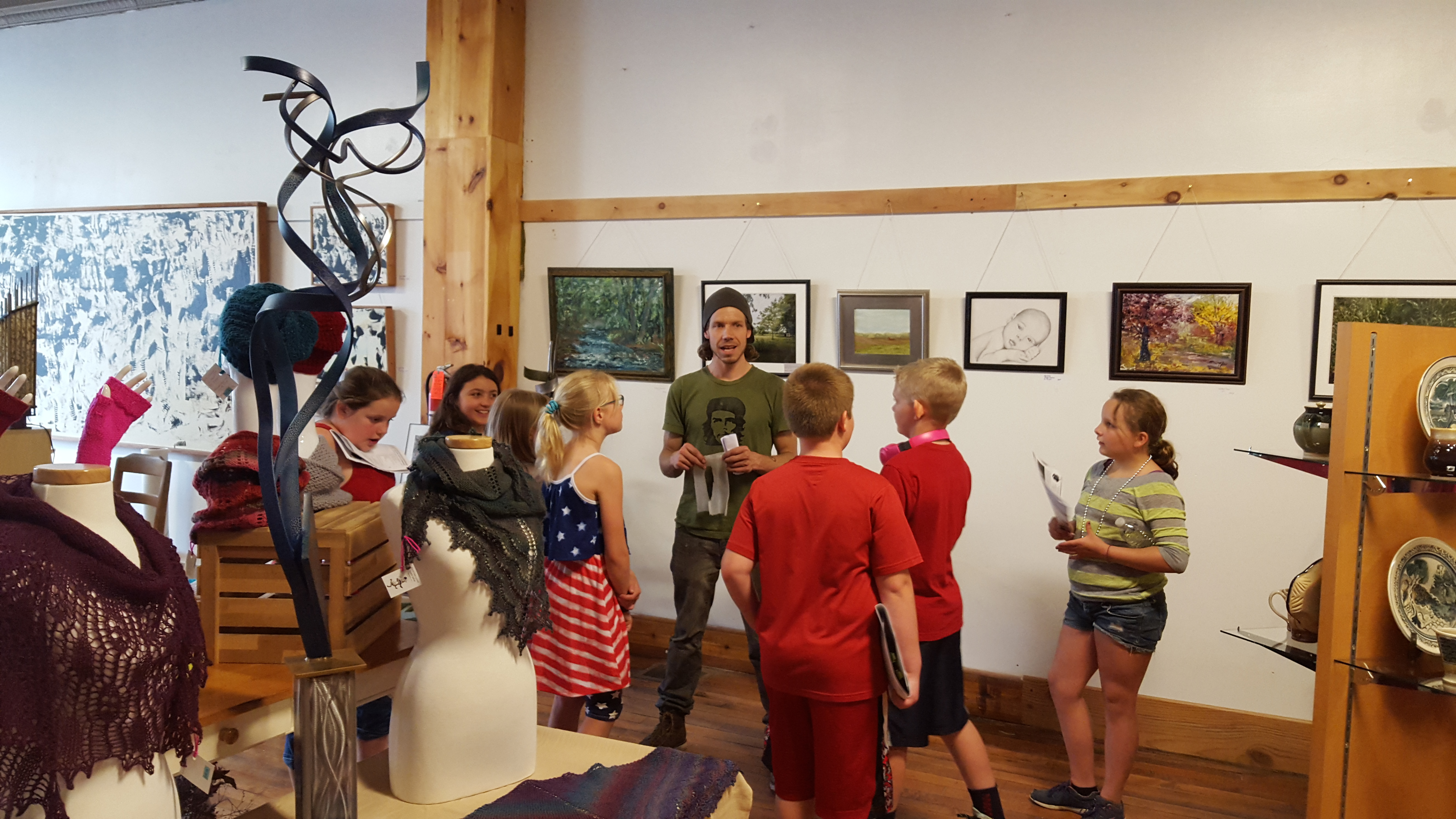 Arts Council of Wyoming hosts a gallery tour