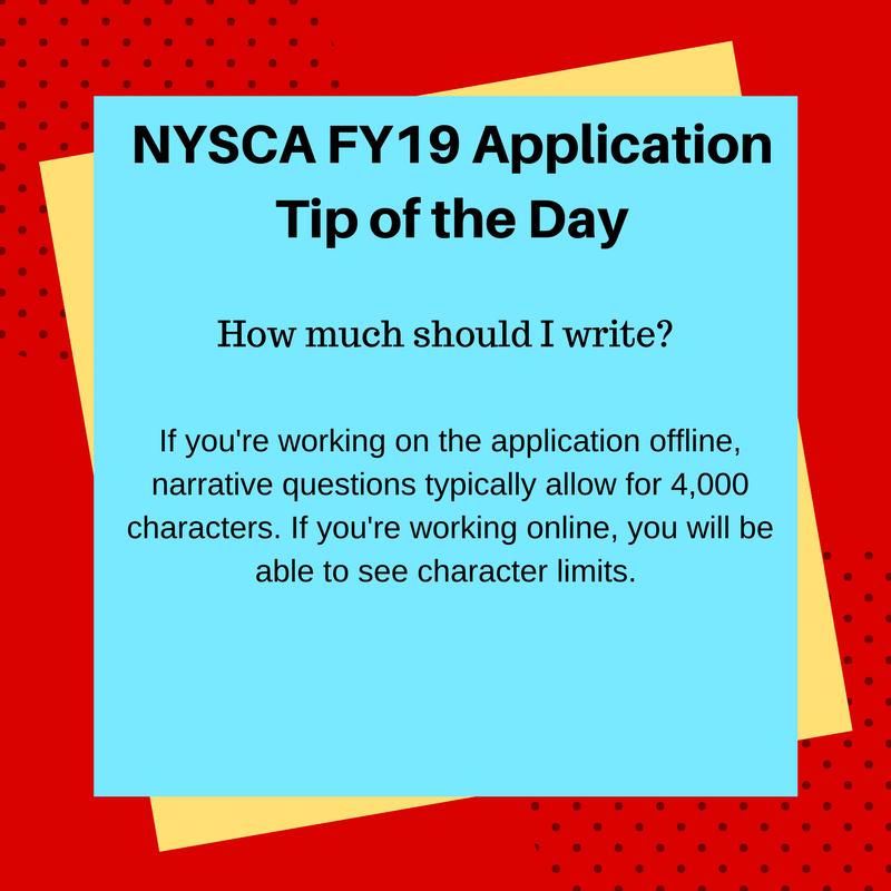application advice