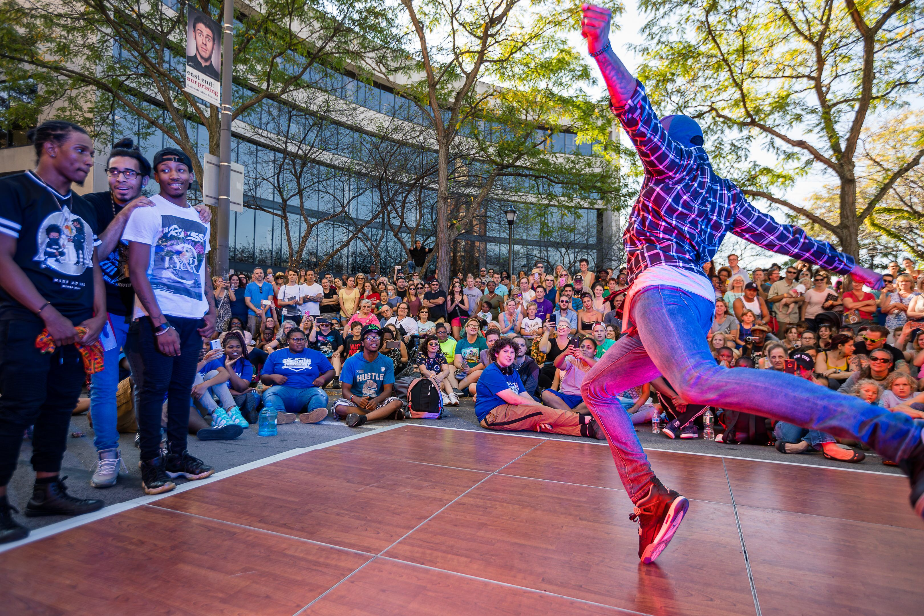 3.	KeyBank Rochester Fringe Festival's annual, free Fringe Street Beat attracts dance crews from all over the Northeast.
