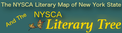 NYSCA Literary Map of New York State & Littree
