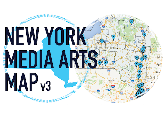 New York Media Arts Map
