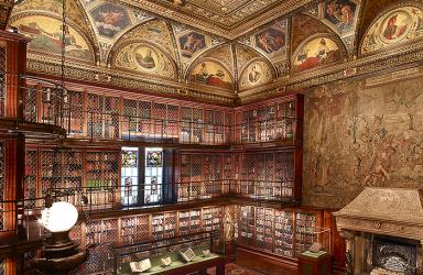 Pierpont Morgan's Library,The Morgan Library & Museum. Photography by Graham Haber, 2010